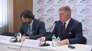 Fico a Kaliňák majú zásadné vyjadrenie k migrácii