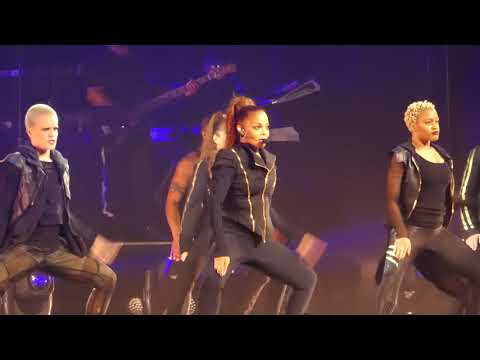 """Rhythm Nation"" Janet Jackson@Wells Fargo Center Philadelphia 11/13/17"