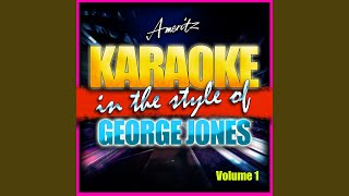 I Don't Need Your Rocking Chair (In the Style of George Jones) (Karaoke Version)