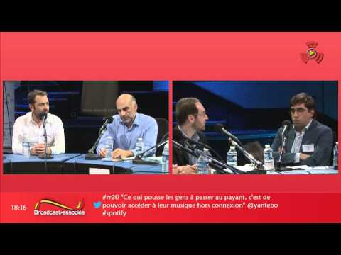Les nouvelles tendances publicitaires radio en ligne Triton Targetspot Spotify SRI @ Radio 20 Paris