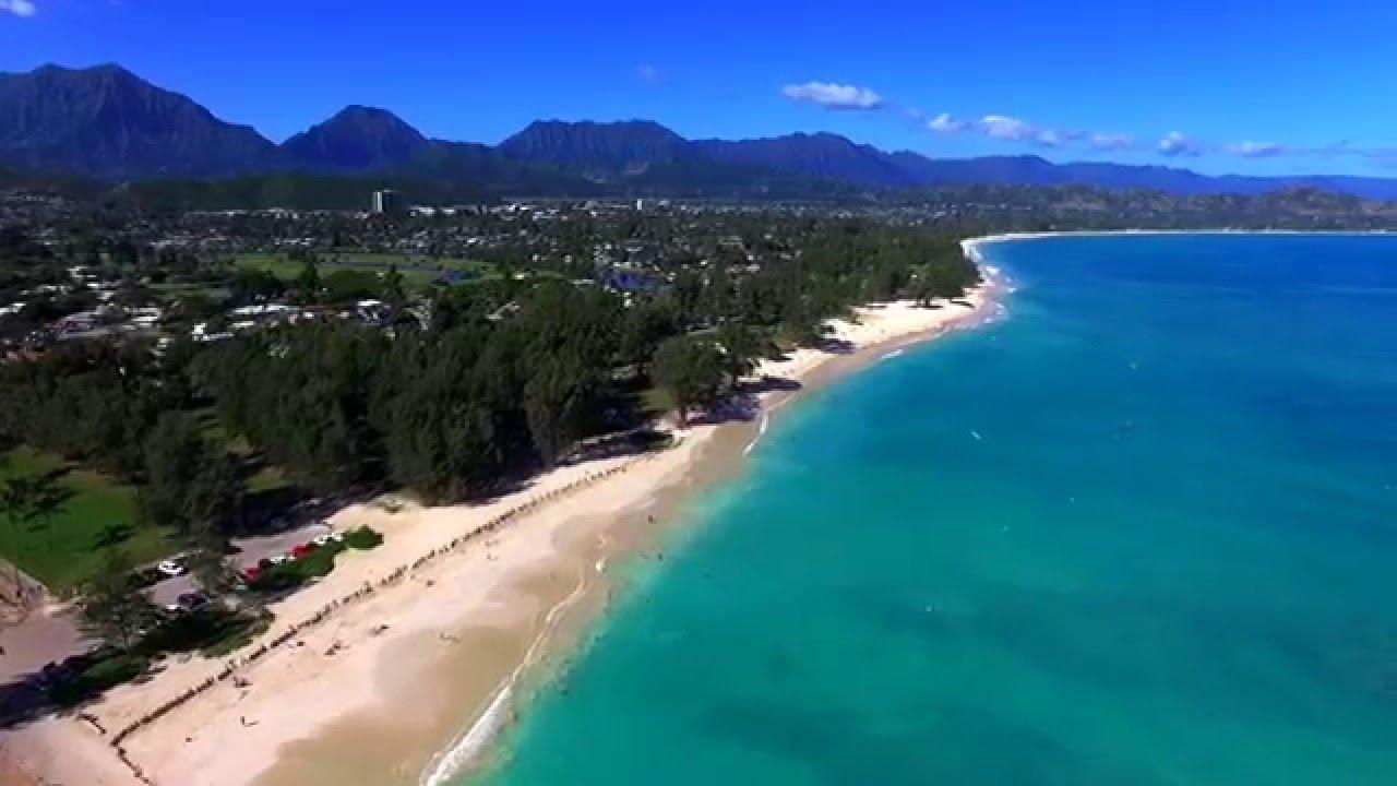 Kailua Beach Park Spectacular Aerial Tour