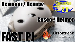 FMA casco / helmet fast PJ (English sub rdy) - Camuchu airsoft