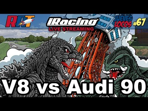 iRacing || V8 vs Audi 90 (V8 circa 2012 @ Summit Point - Hosted #67 Rookie Racing Team)
