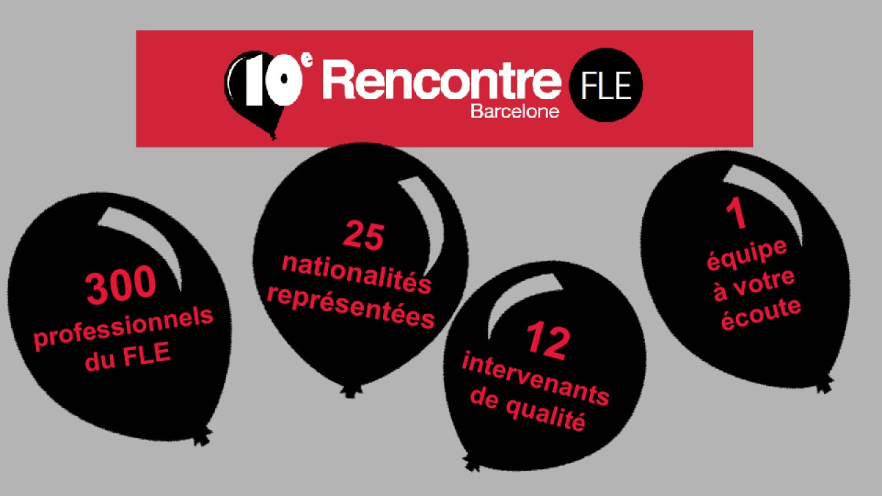 rencontres fle barcelone 2020