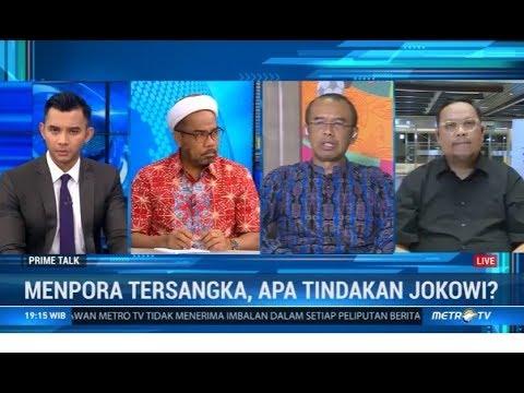 Menpora Tersangka, Apa Tindakan Jokowi?