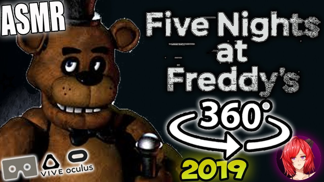 Five Nights At Freddy's [ASMR] 360: FNAF 360 VR (fnaf asmr) thumbnail