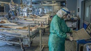 Резкий рост заболеваемости и рост смертей Коронавирус в России