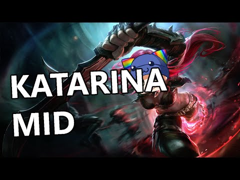 League of Legends - Katarina Mid - Full Gameplay Commentary