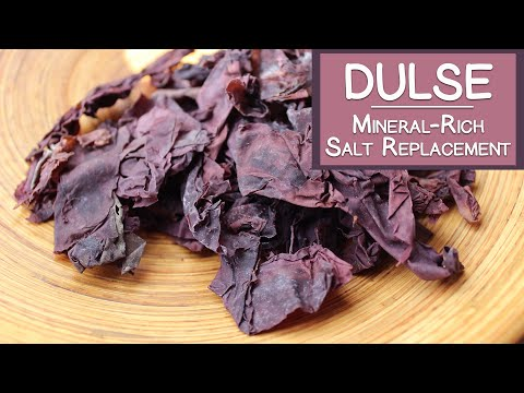 Dulse Seaweed, A Mineral-Rich Salt Replacement