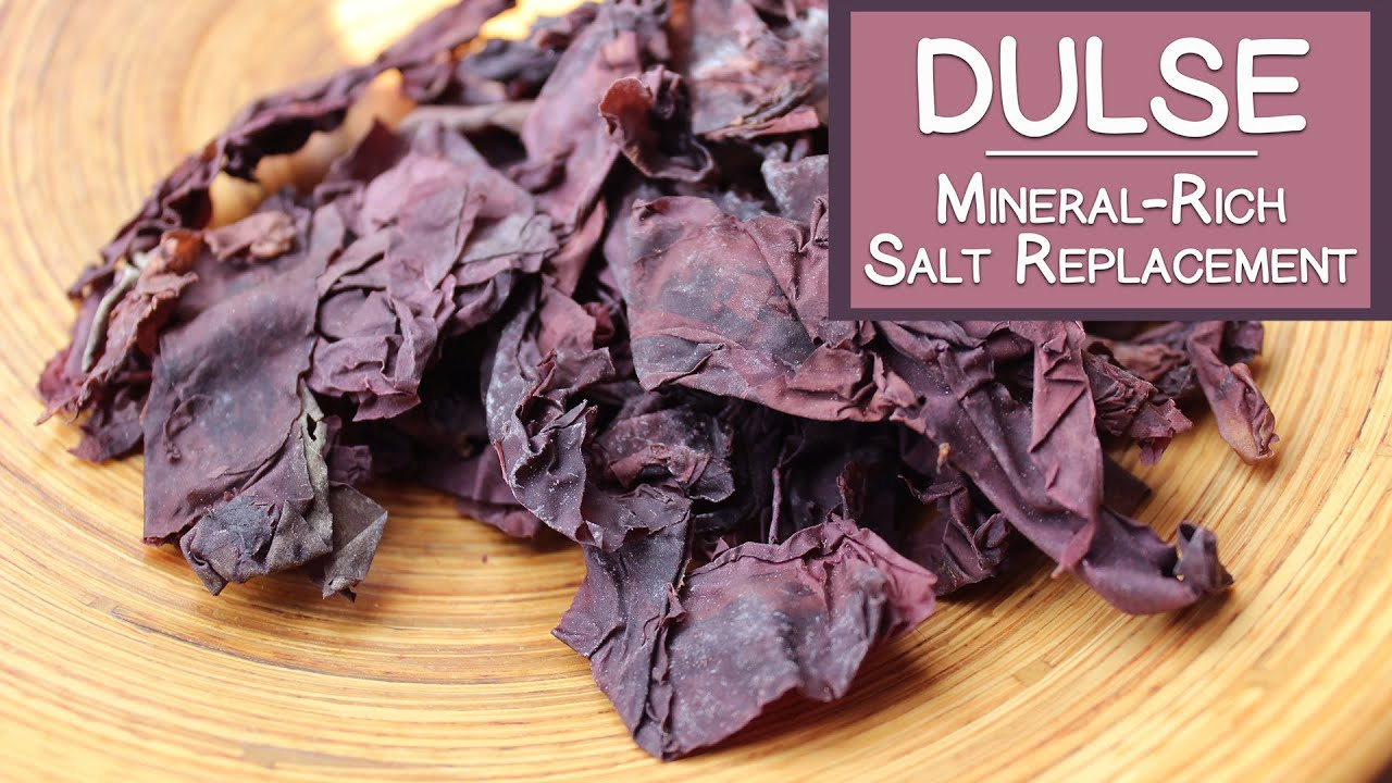 dulse to avoid iodine deficiency