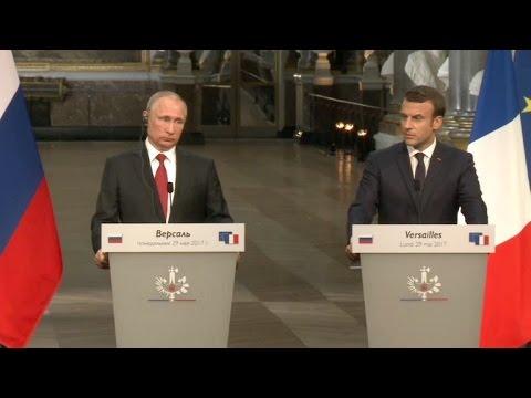 afpbr: Macron e Putin mantêm diálogo 'franco' sobre Síria e Ucrânia