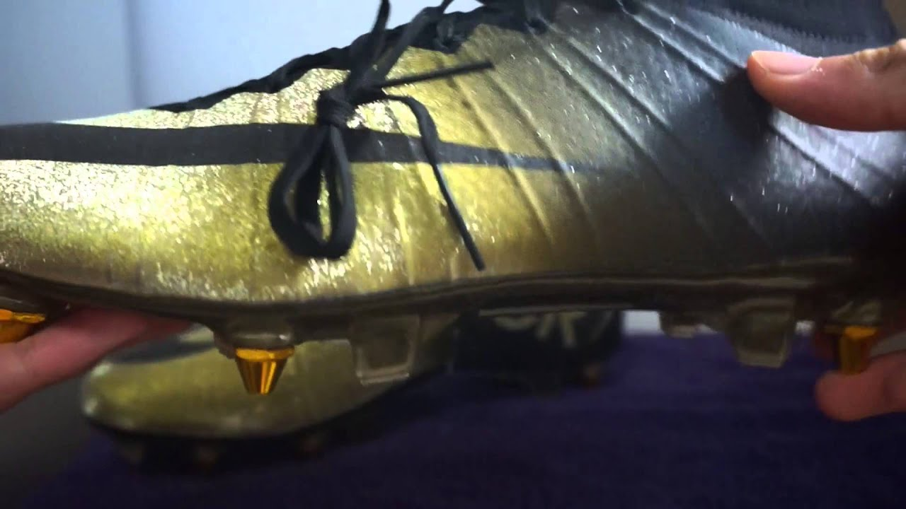 buy online ca9ff 8077a Nike Mercurial Superfly 4 CR7 Rare Gold Unboxing