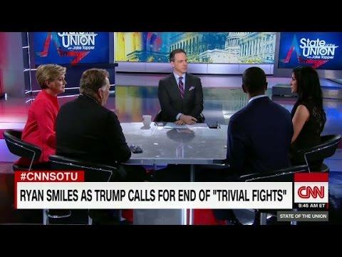 Ryan fights back smile on