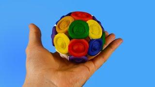 Diy Pop It Ball 3D Printed / Simple Dimple Sphere 3D Print Timelapse #shorts