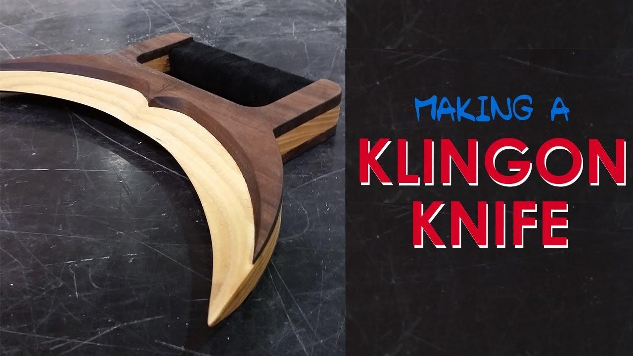 How To Make A Klingon Knife Jejtaj Or Mini Batleth Star Trek Geekmaking Episode 1