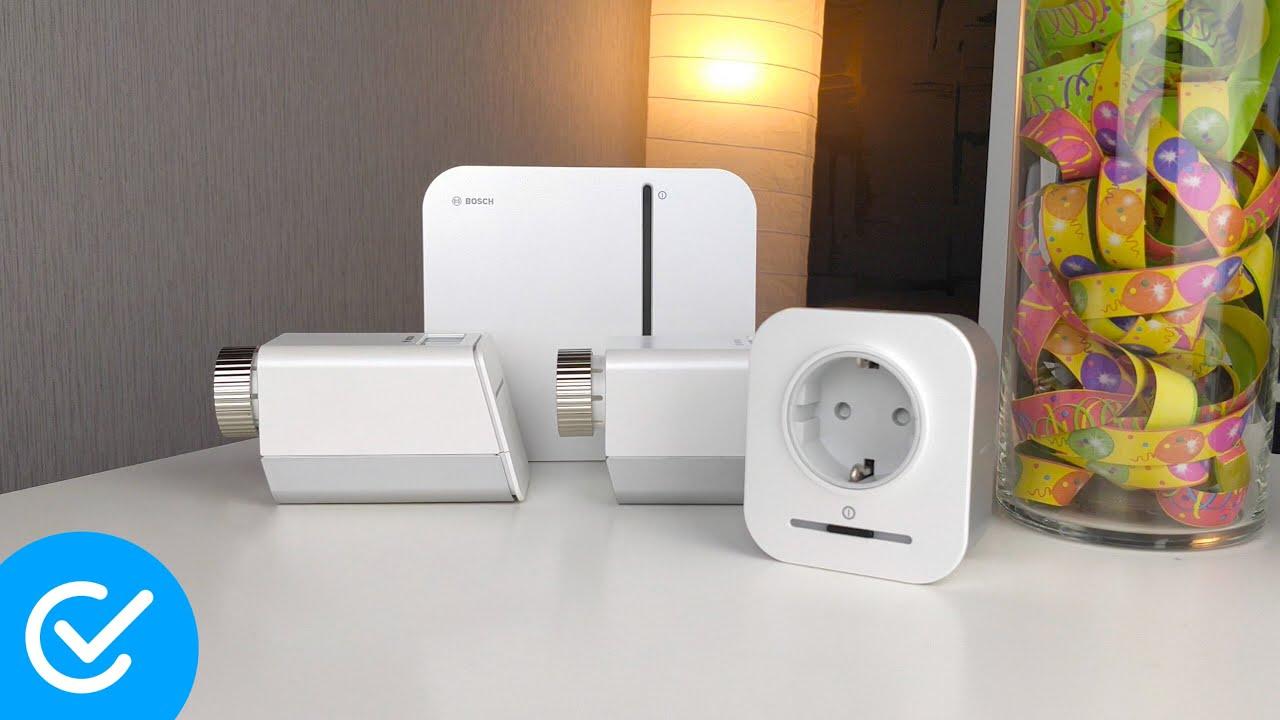 Heizung Mit Dem Smartphone Steuern Bosch Smart Home Set Review