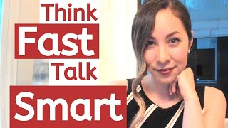 How To Think FAST and Talk SMART - Verbal Fluency