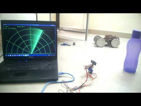 How to Make Radar Detector with Arduino and Ultra Sonic Sensor