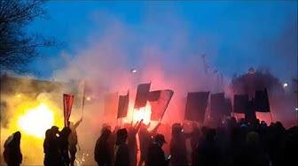 Andonline Anderlecht Zulte Waregem Atmosphere Corteo Fans