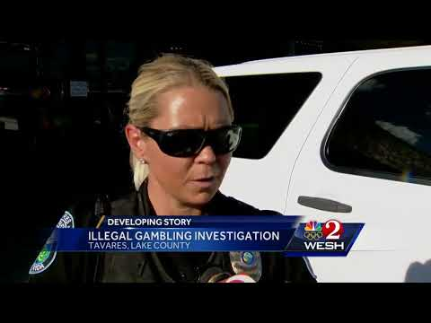 Police make bust in alleged illegal gambling casino