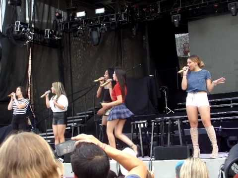 Fifth Harmony - Better Together (live at the soundcheck 8/20/16)