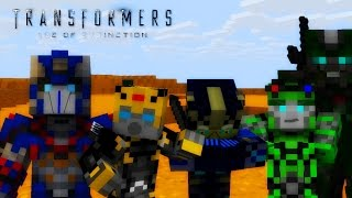 Transformers: Age Of Extinction - Autobots Reunite Scene - short- Minecraft Recreation