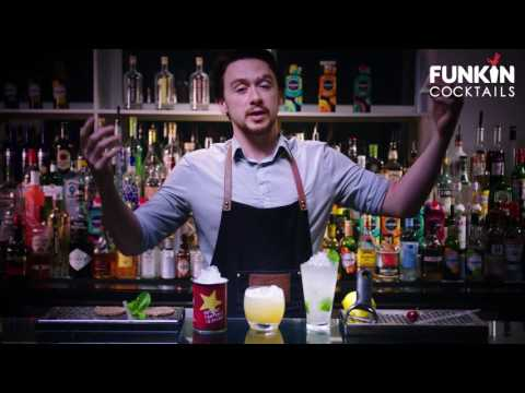 How to garnish a cocktail with Funkin Cocktails