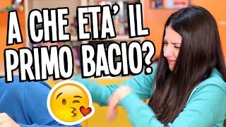 A CHE ETA' IL NOSTRO PRIMO BACIO? #MeFaqTe