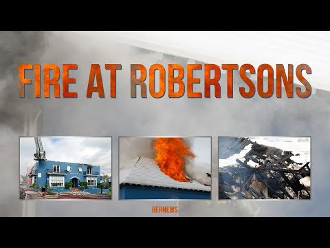 Fire At Robertson's In St. George's, Sept 2 2017