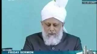 Проповедь Хазрата Мирзы Масрура Ахмада, (21-05-10) часть 4