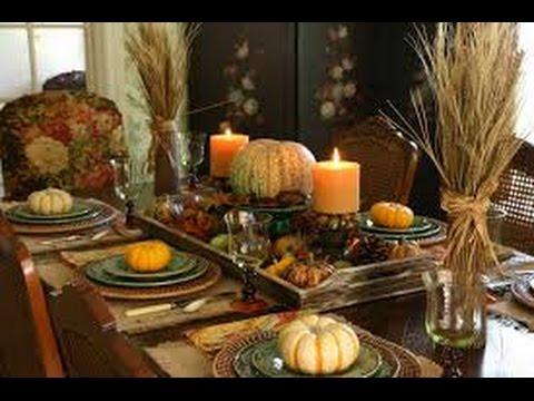 100 centros de mesa thanksgiving accion de gracias dia - Centros para decorar mesas ...