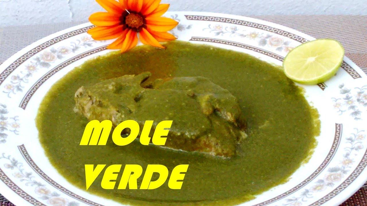Como hacer mole verde o pipian en carn de puerco cocina for Cocina tradicional
