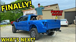 Rebuilding A Wrecked 2019 Ford Raptor Part 12