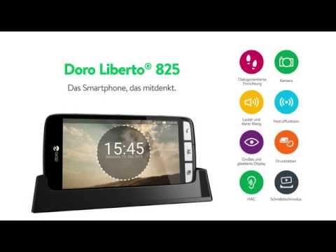 Doro Liberto® 825 - Das Smartphone, das mitdenkt - Einsteiger-Smartphone - einfache Bedienung