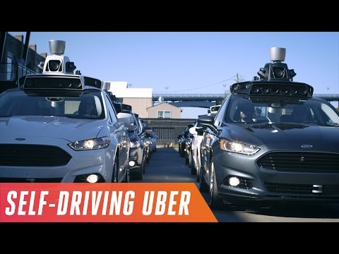 Uber tests self-driving Volvo SUVs on the road