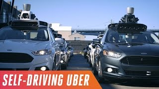 Behind the wheel of Uber's first self-driving car