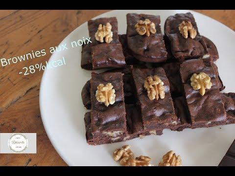recette-de-brownies-aux-noix--28%-kcal