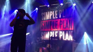 Simple Plan - This Song Saved My Life (acoustic) (Live @ Rockefeller, Oslo) 24/05/2016