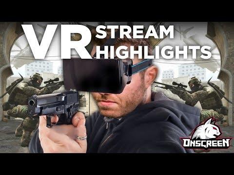 VR Stream Highlights (HTC Vive Dating Tips??)
