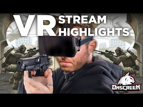 VR Stream Highlights (HTC Vive Dating Tips??)