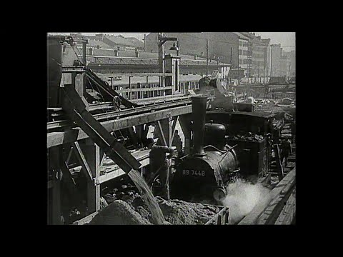 S-Bahn Berlin: Bauarbeiten der Nord-Süd Verbindung 1934