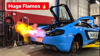 SECRETLY STRAIGHT PIPING MY BEST FRIENDS MCLAREN! *SHOOTS HUGE FLAMES*