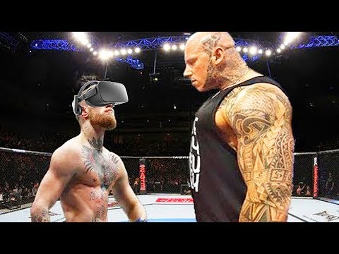 Boxing A GIANT In VIRTUAL REALITY!