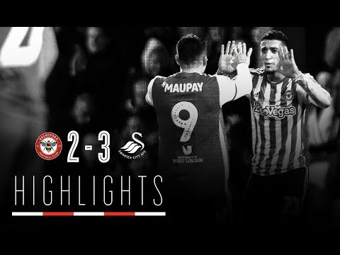 Match Highlights: Brentford 2 Swansea City 3