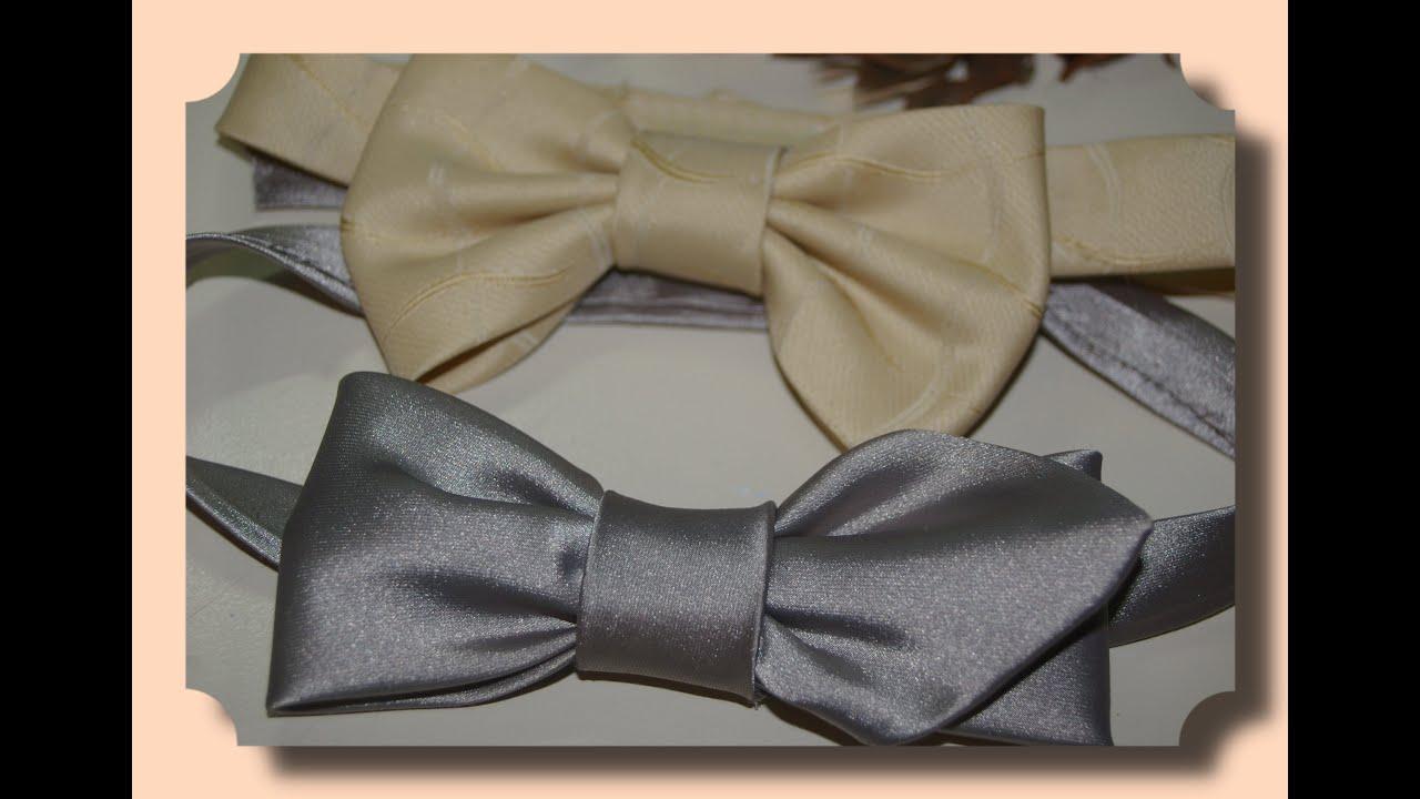 Бабочка галстук своими руками видео фото 564