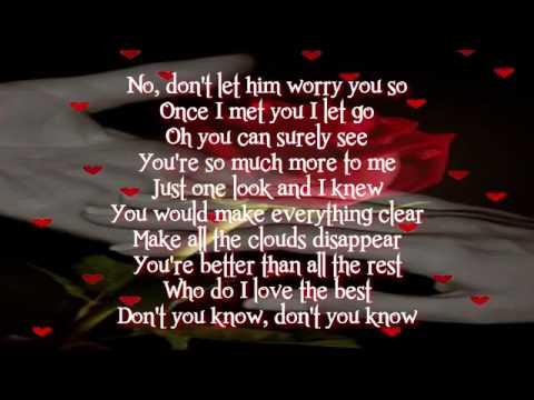 Jets - You Got It All - Lyrics