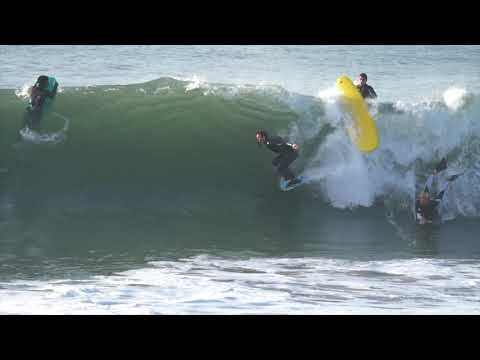 Bodyboarding Seal Beach January 10th 2019 RAW