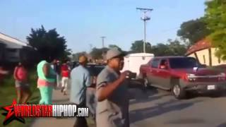Group Gets Run Over By A Car After Heated Argument  (worldstar)