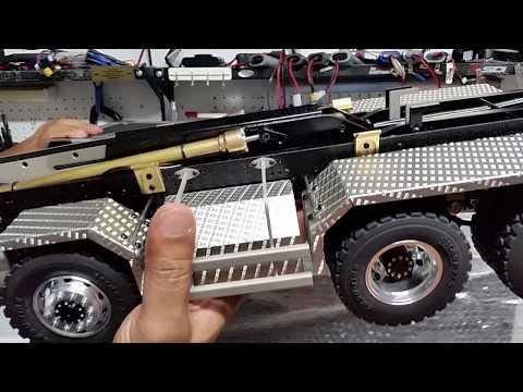 CSMI : PART 1 RC  Roll on Roll off / Hook truck MAN 8 x 8