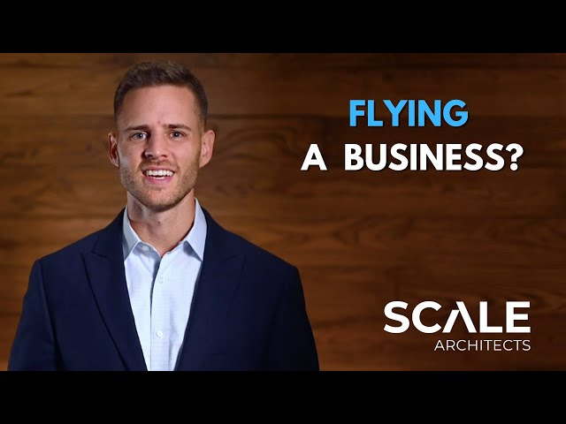 Flying a plane and building a business